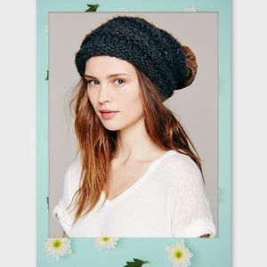 Free People Mars Slouchy Beanie-never worn